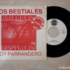 Discos de vinilo: LOS BESTIALES.PROMOCIONAL EDIGSA RARISIMO.. Lote 178092247
