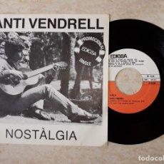 Discos de vinilo: SANTI VENDRELL.NOSTALGIA PROMOCIONAL EDIGSA.1981. Lote 178092718