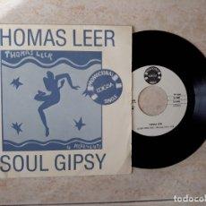 Discos de vinilo: THOMAS LEER.SOUL GIPSY.PROMOCIONAL EDIGSA.. Lote 178094943