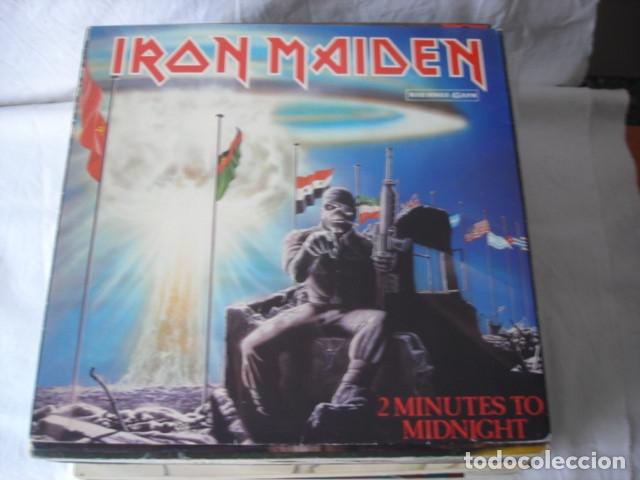 IRON MAIDEN 2 MINUTES TO MIDNIGHT (Música - Discos de Vinilo - Maxi Singles - Heavy - Metal)