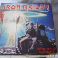 Discos de vinilo: IRON MAIDEN 2 MINUTES TO MIDNIGHT . Lote 178095072
