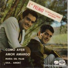 Discos de vinilo: DUO DINAMICO - COMO AYER - EP DE VINILO . Lote 178097535