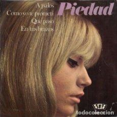 Discos de vinilo: PIEDAD - A PALOS - EP DE VINILO . Lote 178097970