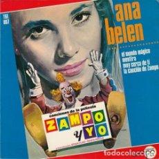 Discos de vinilo: ANA BELEN - EL MUNDO MAGICO - EP DE VINILO . Lote 178098120