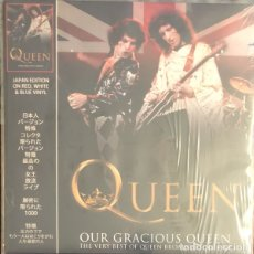 Discos de vinilo: QUEEN ?– OUR GRACIOUS QUEEN - THE VERY BEST OF QUEEN BROADCASTING LIVE. Lote 178100223