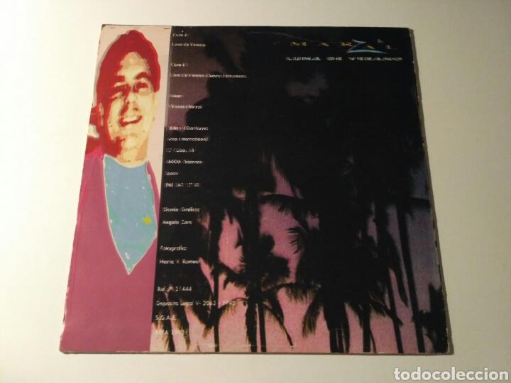Discos de vinilo: Marzal - Luna De Verano - Foto 2 - 178102027