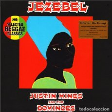 Discos de vinilo: LP JUSTIN HINES AND THE DOMINOES JEZEBEL VINILO ROOTS REGGAE. Lote 178106454