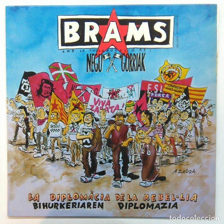 BRAMS & NEGU GORRIAK -LA DIPLOMÀCIA DE LA REBEL-LIA -MINI LP 45 RPM- (INCLUYE LIBRETO) (Música - Discos de Vinilo - Maxi Singles - Punk - Hard Core)