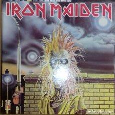 Discos de vinilo: IRON MAIDEN - IRON MAIDEN LP, REISSUE ED. UK 1985. Lote 178108485
