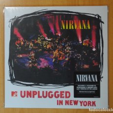 Discos de vinilo: NIRVANA - UNPLUGGED IN NEW YORK - LP. Lote 178109397