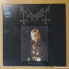Discos de vinilo: MAYHEM - LIVE IN ZEITZ - LP. Lote 178109463