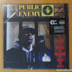 Discos de vinilo: PUBLIC ENEMY - IT TAKES A NATION OF MILLIONS TO HOLD US BACK - LP. Lote 178109524