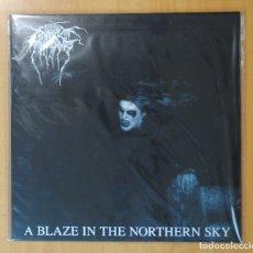 Discos de vinilo: DARKTHRONE - A BLAZE IN THE NORTHERN SKY - LP. Lote 178109580