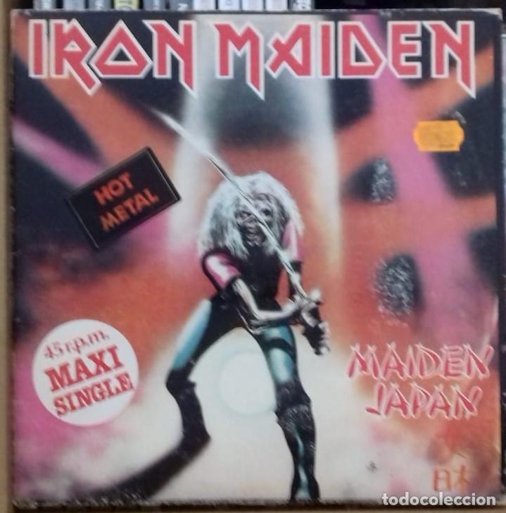 IRON MAIDEN - MAIDEN JAPAN EP, ED. ESPAÑOLA 1981 (Música - Discos de Vinilo - Maxi Singles - Heavy - Metal)