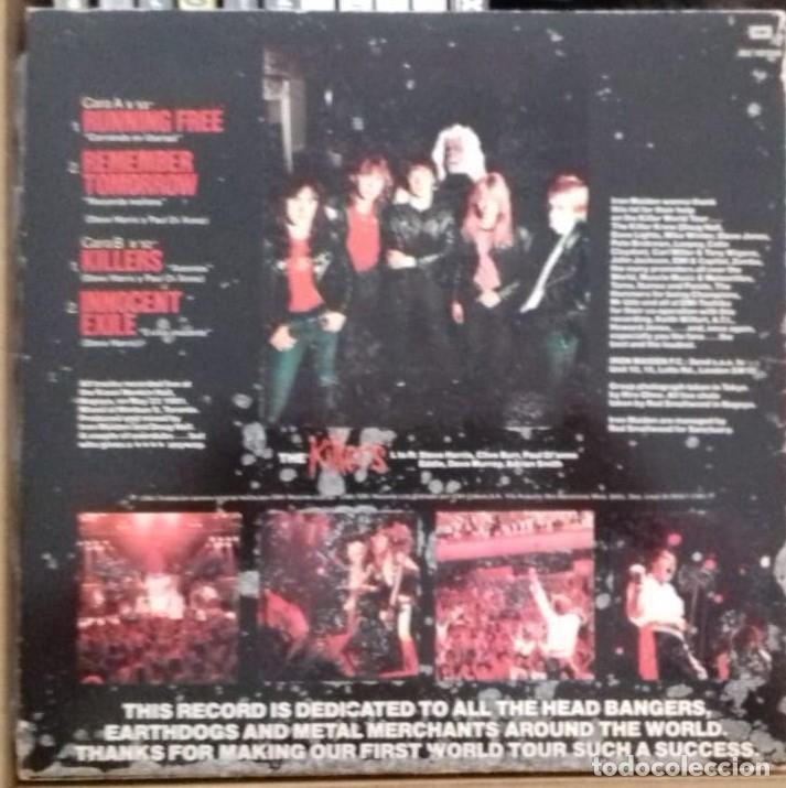 Discos de vinilo: IRON MAIDEN - MAIDEN JAPAN EP, ED. ESPAÑOLA 1981 - Foto 2 - 178111174