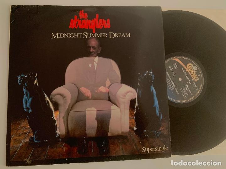 MAXI DISCO VINILO 12'' THE STRANGLERS MIDNIGHT SUMMER DREAM PRIMERA EDICION ESPAÑOLA DE 1983 (Música - Discos de Vinilo - Maxi Singles - Punk - Hard Core)
