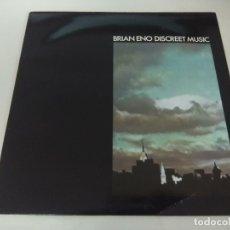 Discos de vinilo: VINILO/BRIAN ENO/DISCREET MUSIC.. Lote 178121482