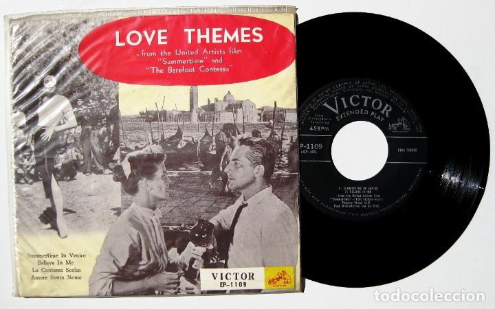 SUMMERTIME (ROSSANO BRAZZI) / THE BAREFOOT CONTESSA (KATYNA RANIERI) - EP VICTOR 1956 JAPAN BPY (Música - Discos de Vinilo - EPs - Bandas Sonoras y Actores)