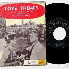 Discos de vinilo: SUMMERTIME (ROSSANO BRAZZI) / THE BAREFOOT CONTESSA (KATYNA RANIERI) - EP VICTOR 1956 JAPAN BPY. Lote 178121888