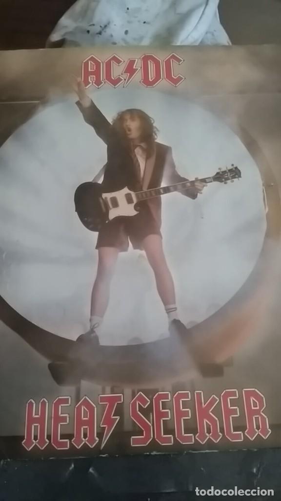 AC DC HEATSEEKER ,ALGUN TEMA INEDITO SNAKE EYE (Música - Discos de Vinilo - Maxi Singles - Heavy - Metal)