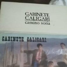 Discos de vinilo: GABINETE CALIGARI QUE DIOS REPARTA SUERTE Y CAMINO SORIA MUCHO TROTE PERO PASABLES,AUDIBLES. Lote 178127070