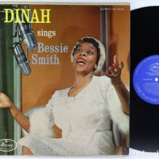 Discos de vinilo: DINAH WASHINGTON - DINAH SINGS BESSIE SMITH 1958 !! BLUES, JAZZ, RARA USA EDIT, COLLECTORS, TODO EX. Lote 178128069