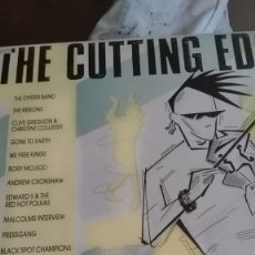 Discos de vinilo: THE CUTTING EDGE BRITISH ROOTS MUSIC,FOLK ROCK,OYSTER BAND,RORY MACLEOD,ETC . Lote 178128524