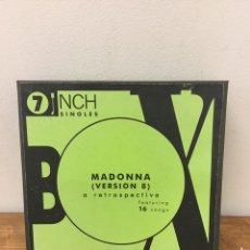 Discos de vinilo: ULTRA RARO BOX SET DE MADONNA 8 SINGLES 16 CANCIONES CAT BX45407 (VERSION 8). Lote 178133618