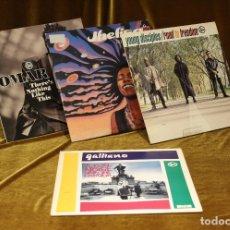 Discos de vinilo: LOTE DE CUATRO DISCOS DE ACID JAZZ,TALKIN LOUD,EL DORADO,AÑOS 90.. Lote 178134627
