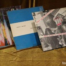 Discos de vinilo: LOTE DE TRES VINILOS DE CABARET VOLTAIRE,TECNO,ROUGH TRADE.. Lote 178135425