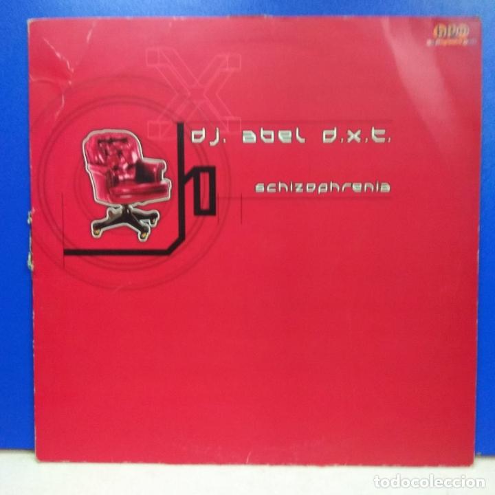 MAXI SINGLE DISCO VINILO DJ ABEL DXT SCHIZOPHRENIA (Música - Discos de Vinilo - Maxi Singles - Disco y Dance)
