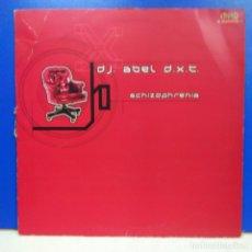 Discos de vinilo: MAXI SINGLE DISCO VINILO DJ ABEL DXT SCHIZOPHRENIA. Lote 178136474