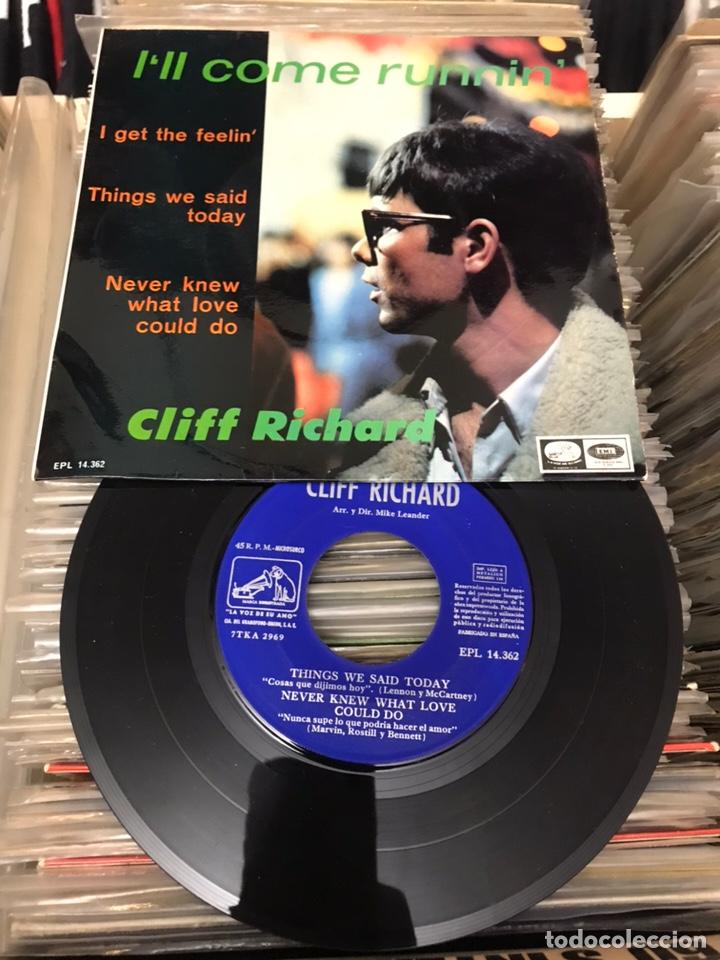 CLIFF RICHARD / I'LL COME RUNNIN' + 3 (EP 1967) (Música - Discos - Singles Vinilo - Pop - Rock Extranjero de los 50 y 60)