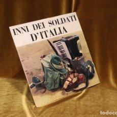 Discos de vinilo: CORO AERONAUTICA MILITARE ITALIANA INNI DEI SOLDATI D'ITALIA.. Lote 178141693