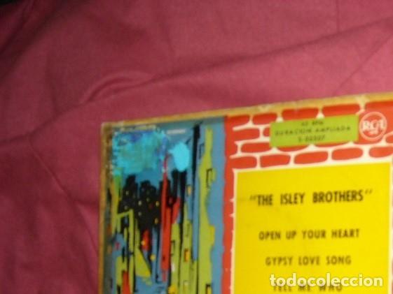 Discos de vinilo: the isley brothers ep open up your heart 1960 rca spa ver fotos raro y dificil ep - Foto 3 - 178149160