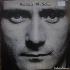 Discos de vinilo: PHIL COLLINS. FACE VALUE. ATLANTIC SD 16029. USA 1981. GATEFOLD. FUNDA VG+, DISCO VG++. Lote 213528005