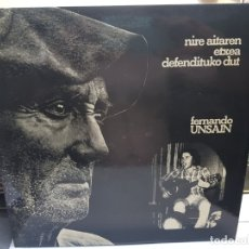 Discos de vinilo: LP-FERNANDO UNSAIN-NIRE AITAREN ETXEA DEFENDITUKO DUT EN FUNDA ORIGINAL 1976. Lote 178153610