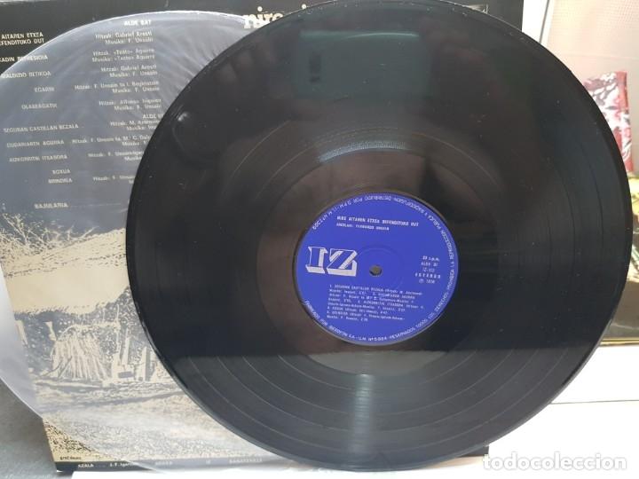 Discos de vinilo: LP-FERNANDO UNSAIN-NIRE AITAREN ETXEA DEFENDITUKO DUT en funda original 1976 - Foto 3 - 178153610