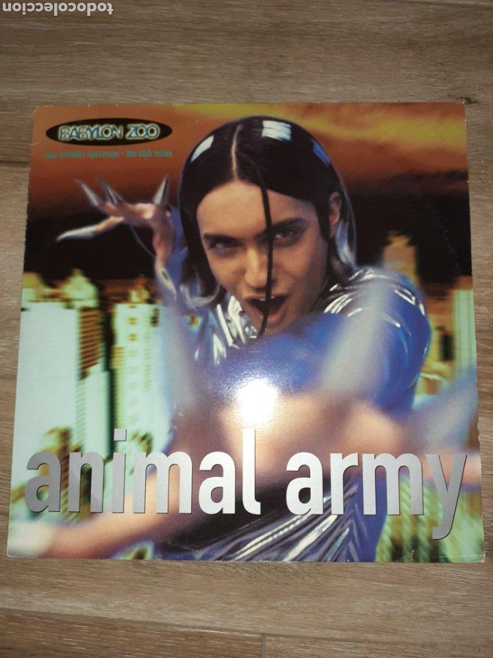 BABYLON ZOO LP, ANIMAL ARMY SPACEMAN (Música - Discos de Vinilo - Maxi Singles - Pop - Rock Internacional de los 90 a la actualidad)
