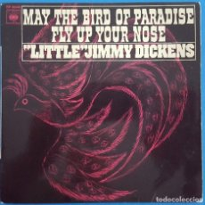 Discos de vinilo: EP / LITTLE JIMMY DICKENS / MAY THE BIRD OF PARADISE FLY UP YOUR NOSE - CALL HIM ME +2. Lote 178156565