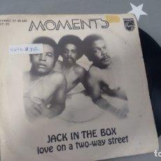 Discos de vinilo: SINGLE (VINILO) DE MOMENTS AÑOS 70. Lote 178157574