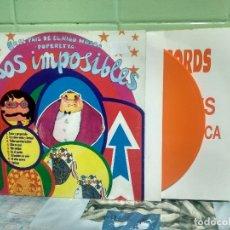 Discos de vinilo: LOS IMPOSIBLES EN EL PAIS DEL NIÑO MOSCA 10 PULGADAS SPAIN 1993 PDELUXE. Lote 178158715