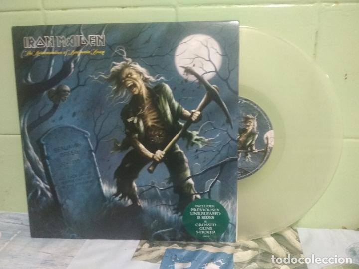 IRON MAIDEN THE REINCARNATION OF BENJAMIN 10 PULGADAS 2006 PEPETO TOP (Música - Discos - LP Vinilo - Heavy - Metal)