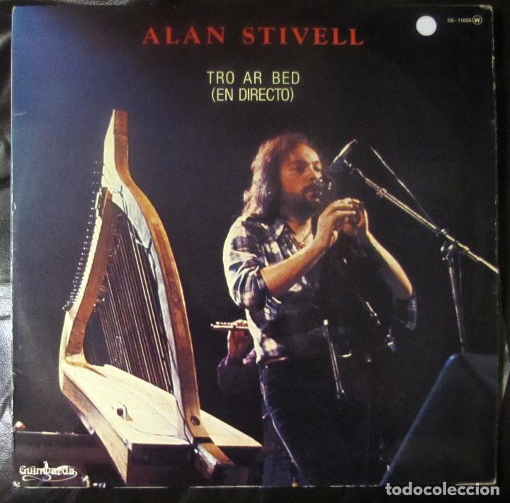 ALAN STIVELL. TRO AR BED (EN DIRECTO). GUIMBARDA GS-11.035. ESPAÑA, 1979. (Música - Discos - LP Vinilo - Country y Folk)