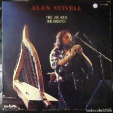 Discos de vinilo: ALAN STIVELL. TRO AR BED (EN DIRECTO). GUIMBARDA GS-11.035. ESPAÑA, 1979.. Lote 178159172