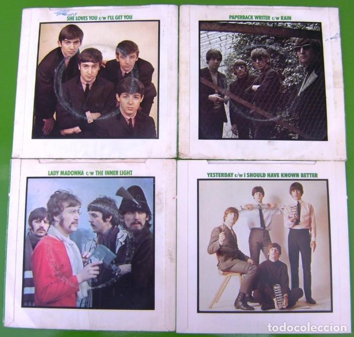 LOTE 4 SINGLES DE THE BEATLES (Música - Discos - Singles Vinilo - Pop - Rock Extranjero de los 50 y 60)