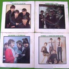 Discos de vinilo: LOTE 4 SINGLES DE THE BEATLES. Lote 178159253