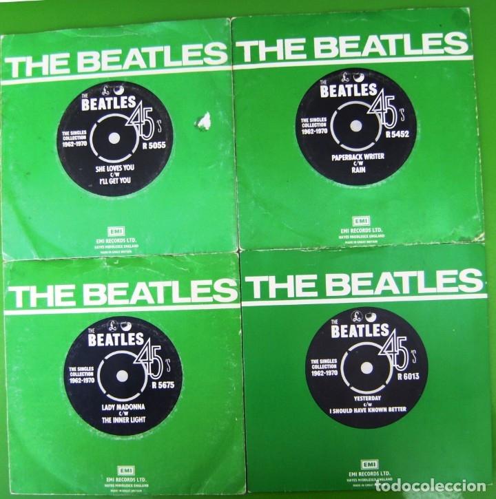 Discos de vinilo: Lote 4 singles de The Beatles - Foto 2 - 178159253