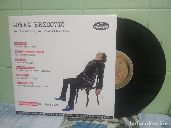 GORAN BREGOVIC CHAMPAGNE FOR GYPSIES 10 PULGADAS EUROPA 2012 (Música - Discos - LP Vinilo - Pop - Rock Extranjero de los 90 a la actualidad)