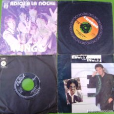 Discos de vinilo: LOTE DE 4 SINGLES DE PAUL MCCARTNEY (THE BEATLES). Lote 178159387